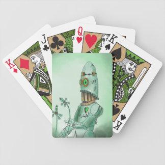 Valve Flowers Robot playing card deck