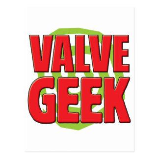 Valve Geek Post Card