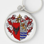 Valverde Coat of Arms Keychains