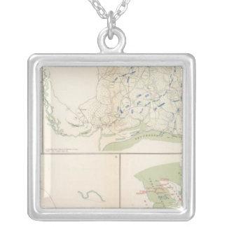 Valverde, Shiloh, Ft Craig, Roanoke Island Silver Plated Necklace