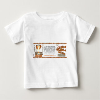 ValxArt 1941 2001 zodiac metal snake born Pisces Baby T-Shirt