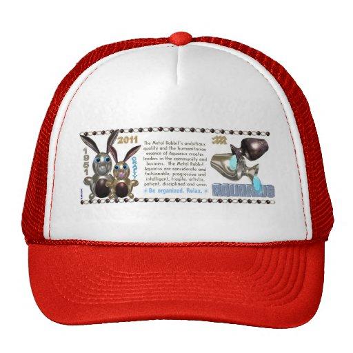 Valxart 1951 2011 2071 acuarios del zodiaco de Met Gorras De Camionero