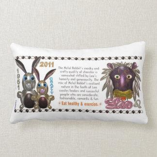 Valxart 1951 2011 2071 MetalRabbit zodiac Leo Pillows