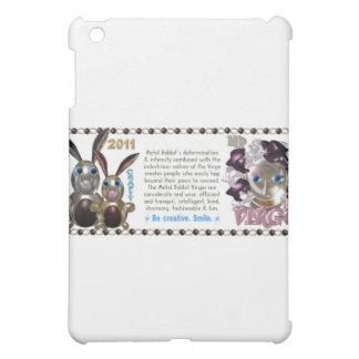 Valxart 1951 2011 2071 MetalRabbit zodiac Virgo iPad Mini Cover