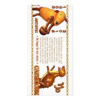 Valxart 1955 2015 2075 Capricornios del zodiaco de Tarjetas Personales