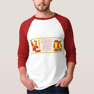 Valxart 1957 2017 2077 FireRooster zodiac Gemini T Shirt