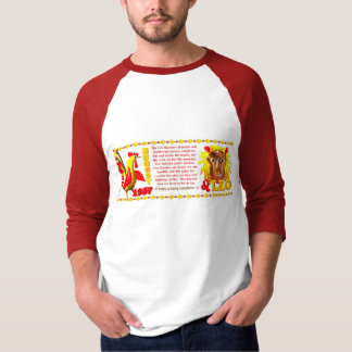 Valxart 1957 2017 2077 FireRooster zodiac Leo T-Shirt