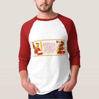 Valxart 1957 2017 2077 FireRooster zodiac Pisces T-Shirt