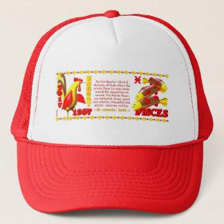 Valxart 1957 2017 2077 FireRooster zodiac Pisces Trucker Hat