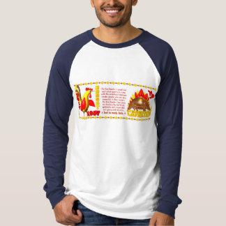 Valxart 1957 2017 FireRooster zodiac Capricorn T-Shirt