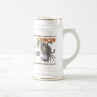 Valxart 1960 2020 MetalRat zodiac Cancer Beer Stein
