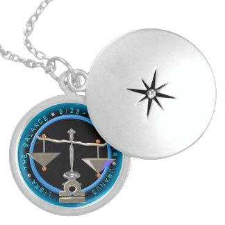 Valxart 1961 2021 MetalBull zodiac Libra Round Locket Necklace