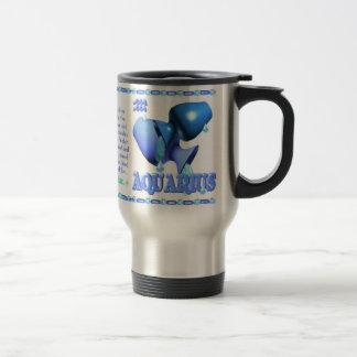 Valxart 1962 2022 WaterTiger  zodiac Aquarius 15 Oz Stainless Steel Travel Mug