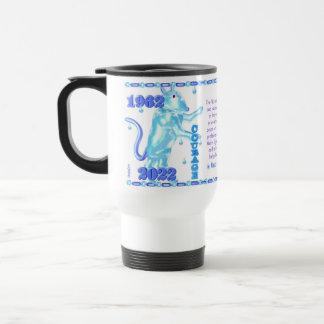 Valxart 1962 2022 WaterTiger  zodiac Tautus 15 Oz Stainless Steel Travel Mug