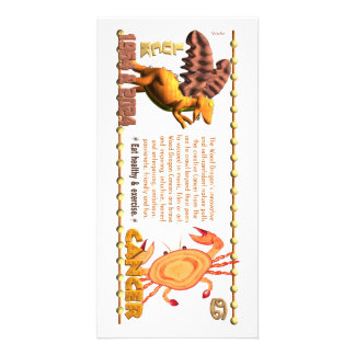 Valxart 1964 2024 Wood Dragon zodiac Cancer Card