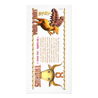 Valxart 1964 2024 Wood Dragon zodiac Taurus Card