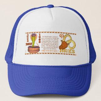 Valxart 1965 2025 Wood Snake zodiac Aries Trucker Hat