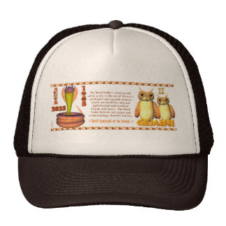 Valxart 1965 2025 Wood Snake zodiac Gemini Trucker Hat