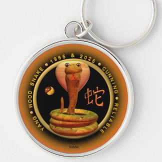 Valxart 1965 2025 Wood Snake zodiac Sagittarius Keychain
