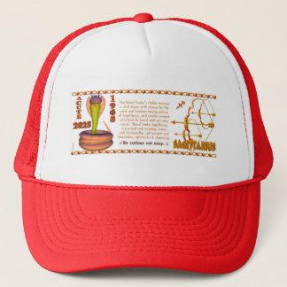 Valxart 1965 2025 Wood Snake zodiac Sagittarius Trucker Hat