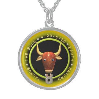 Valxart 1965 2025 Wood Snake zodiac Taurus Round Pendant Necklace
