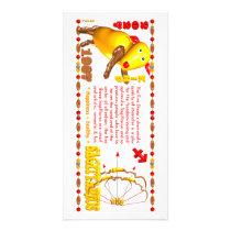 Valxart 1967 2027 Fire Sheep zodiac Sagittarius Card