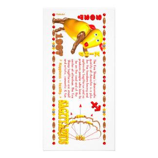 Valxart 1967 sagitario del zodiaco de 2027 ovejas  tarjeta personal