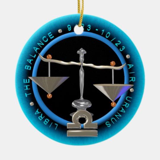 Valxart 1968 2028 EarthMonkey zodiac Libra Ceramic Ornament