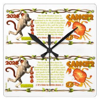 Valxart 1968 2028 géminis del zodiaco de EarthMonk Relojes De Pared