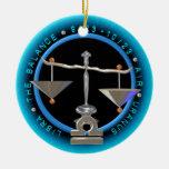 Valxart 1968 2028 libras del zodiaco de EarthMonke Ornamentos De Reyes
