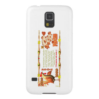 Valxart 1969 2029 Earth Roster zodiac Pisces Case For Galaxy S5
