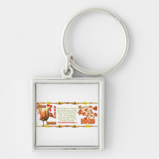 Valxart 1969 2029 Earth Roster zodiac Pisces Keychain