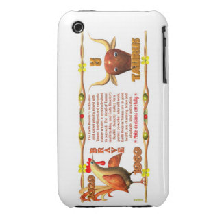 Valxart 1969 2029 Earth Roster zodiac Taurus Case-Mate iPhone 3 Cases