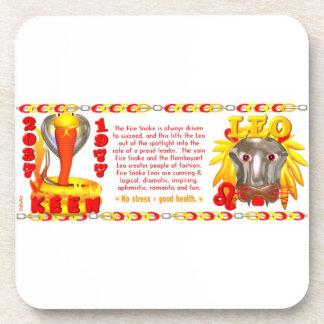 Valxart 1977 2037 FireSnake zodiac born Leo Coaster