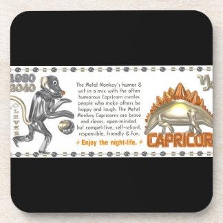 Valxart 1980 Capricorn metalmonkey Coaster