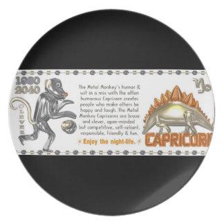 Valxart 1980 Capricorn metalmonkey Plates
