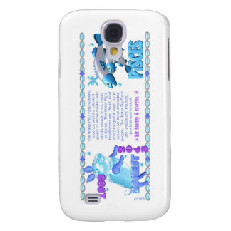 ValxArt 1983 2043 Zodiac water pig born Pisces Samsung Galaxy S4 Covers