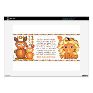 Valxart 1984 2044 Wood Rat born Virgo Laptop Decal