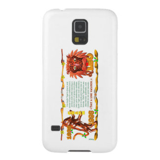 Valxart 1984 2044 WoodRat zodiac born Capricorn Galaxy S5 Case