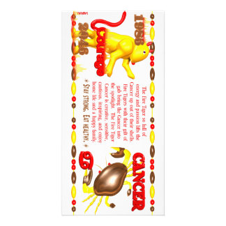 Valxart 1986 2046 FireTiger zodiac Cancer Card