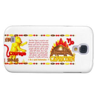 Valxart 1986 2046 FireTiger zodiac Capricorn Samsung S4 Case