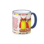 Valxart 1986 2046 FireTiger zodiac Gemini Coffee Mugs