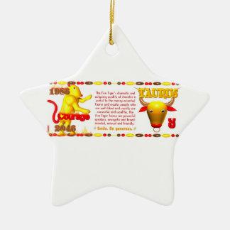 Valxart 1986 2046 tauro del zodiaco de FireTiger Adornos De Navidad