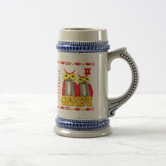 Valxart 1987 2047 FireRabbit zodiac Gemini Beer Stein