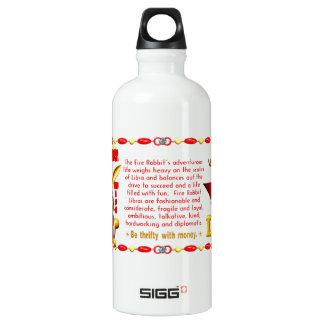 Valxart 1987 2047 FireRabbit zodiac Libra SIGG Traveler 0.6L Water Bottle