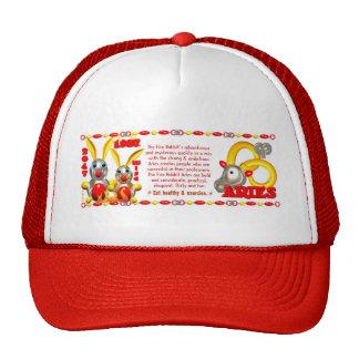 Valxart 1987 2047 FireRabbit zodiac Libra Trucker Hat