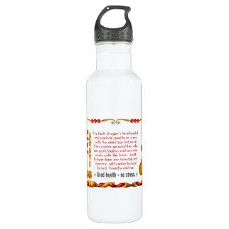 Valxart 1988 2048 aries del zodiaco de EarthDragon Botella De Agua