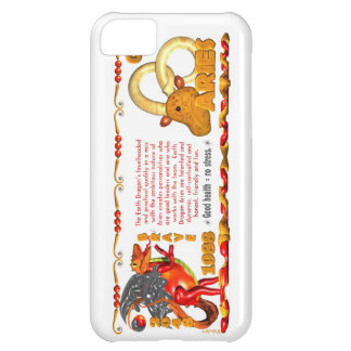 Valxart 1988 2048 EarthDragon zodiac Aries iPhone 5C Cases