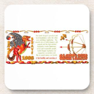 Valxart 1988 2048 EarthDragon zodiac  Sagittarius Coaster