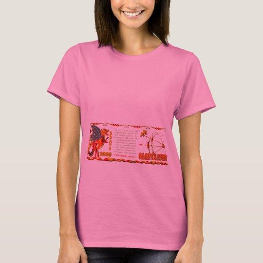 Valxart 1988 2048 EarthDragon zodiac  Sagittarius T-Shirt